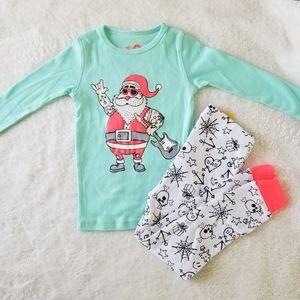 Cotton On Kids Santa Pajamas, Sz. 3